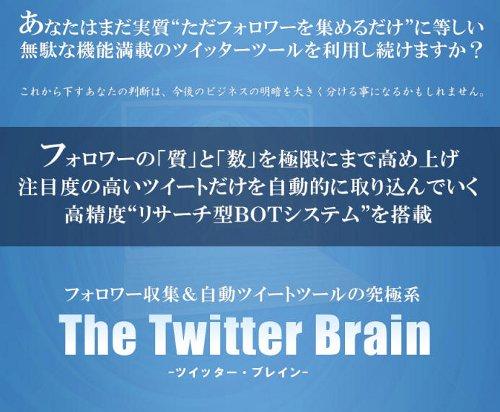ツイッターブレイン-Twitter Brainのレビューと検証評価・特典